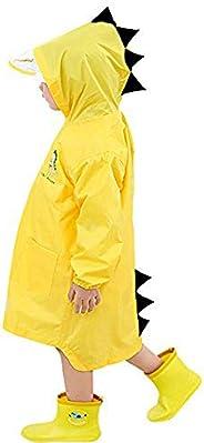 enbihouse Kids Chubasquero Chaqueta Impermeable para niños Impermeable Rain Poncho Lluvia Rain Wear Cute Unise