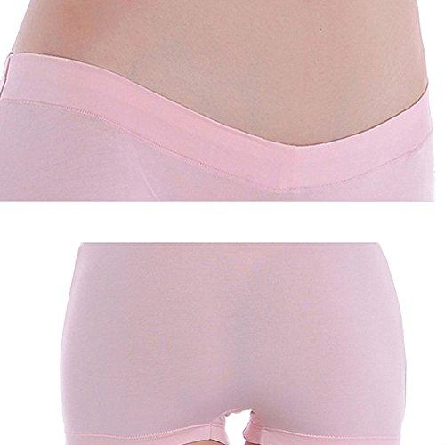 Femminile Under Bump Maternità Mutandine Sano Underwear 3Pack Blue