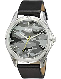 Gully by Timex Camouflage Analog Grey Dial Men's Watch-TW000V904
