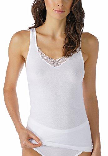 Mey Basics 2000 Damen Tops breiter Träger 25078 Weiß