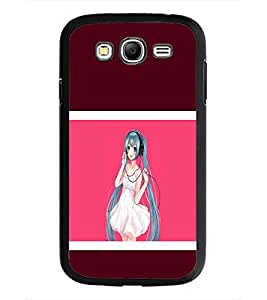 PrintDhaba Music Girl D-1360 Back Case Cover for SAMSUNG GALAXY GRAND I9082 (Multi-Coloured)