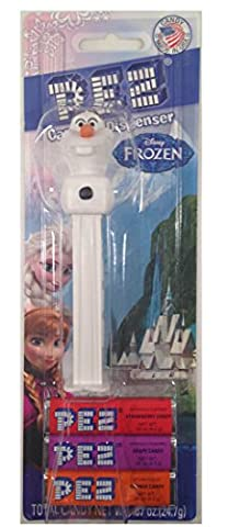 Pez Candy Distributeur : Disney La Reine des neiges Olaf carte blister