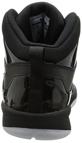 Nike - Team Hustle D 6 (Gs), Scarpe da Basket per bambini e ragazzi Nero (Schwarz (Black/Black-White))