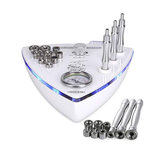 Cara Limpieza Peladura Belleza Máquina Multifunción 2 en 1 Portátil Diamante Dermoabrasión Consejos Microdermabrasión Protección de la Piel Espinilla Eliminación para Belleza Salón