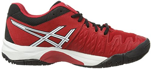 ... Asics Gel-resolution 6 Gs, Unisex-Kinder Tennisschuhe Rot (fiery Red/