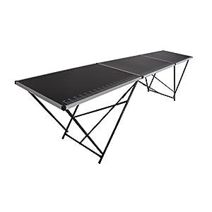 Tapeziertisch Stahl 300×60 cm, faltbar, Multifunktionstisch, Malertisch, Klapptisch, Flohmarkttisch, Partytisch