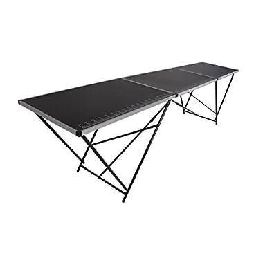 Beach & Pool Tapeziertisch Stahl 300x60 cm, faltbar, Multifunktionstisch, Malertisch, Klapptisch, Flohmarkttisch, Partytisch
