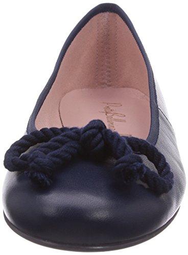 Pretty Ballerinas Pretty Ballerinas, Ballerines Femme Bleu (coton Mar)