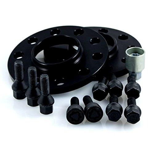 20 mm//Achse Radschrauben Felgenschl/össer 20 mm//Achse TuningHeads//H/&R .0424228.DK.B75725-10 ABE Spurverbreiterung Blackline