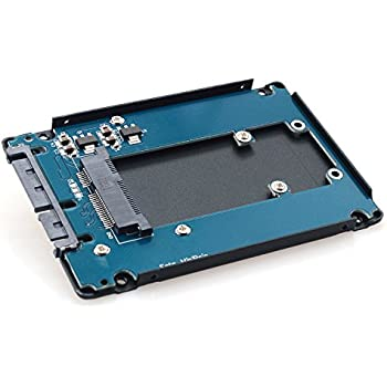 "BlueBeach® Mini PCI-E mSATA vers SATA 2.5"" disque dur 7mm boîtier en Aluminium Converter"