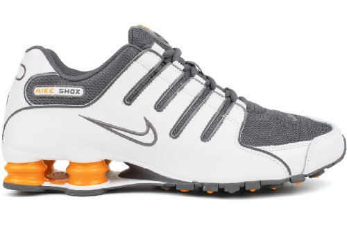 Nike Shox NZ Mens Running Shoes 378341-138 White 8 M US