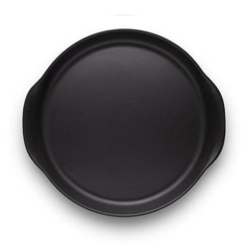Eva Solo Nordic Kitchen Servierplatte, schwarz H 3.7cm Ø 30cm