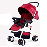 Aoligei Kann Sitzt in Einem Kinderwagen Baby Kinderwagen Portable Super Light Regenschirm Auto Stoßdämpfer Baby Kinderwagen Licht