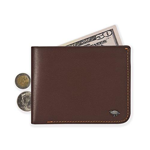 ikepod Geldbörse Herren Hide & Carry | Premium Echt Leder Italienisches [Super Slim Bilfold Nähte.] JAV (Slim Kollektion Wallet Super)