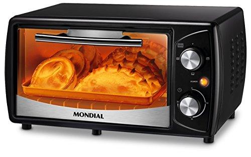 Mondial fr-13–Mini Ofen, 10L, schwarz