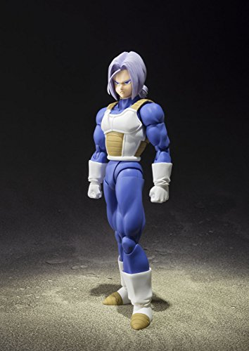 TAMASHII NATIONS Bandai Super Saiyan Trunks (Cell Saga Version) Dragon Ball Z Action Figure 3
