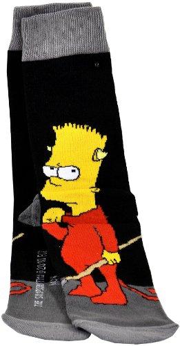 Preisvergleich Produktbild Unitedlabels 109523 - Simpsons Socken 'Bart'