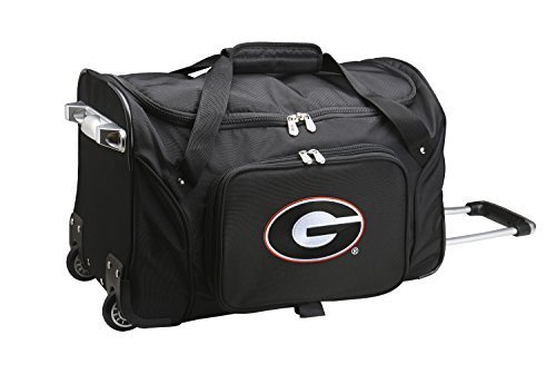 ncaa-georgia-bulldogs-duffel-bag-22-inch-black-by-ncaa