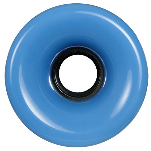 Powerslide Wheels Blank Long Board, 70x51mm 83A, 4 Stück, blau