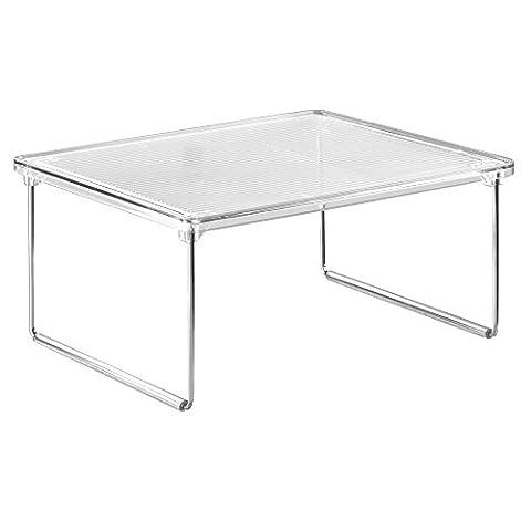 InterDesign Linus Kitchen Cabinet/Countertop Storage Shelf,