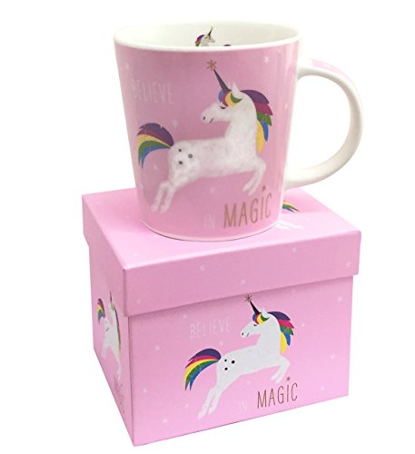 Pink Unicorn Mug in a Presentation Gift Box