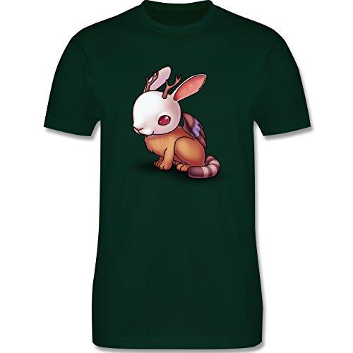 Sonstige Tiere - Wolpertinger - Herren Premium T-Shirt Dunkelgrün