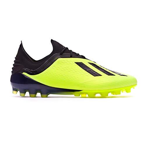 half off b37c1 6345d adidas X 18.1 AG, Scarpe da Calcio Uomo, Giallo (Amasol Negbás
