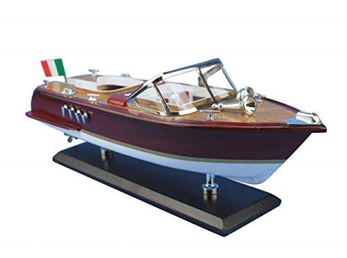 Navyline Holz Modellschiff - Italienisches Motorboot