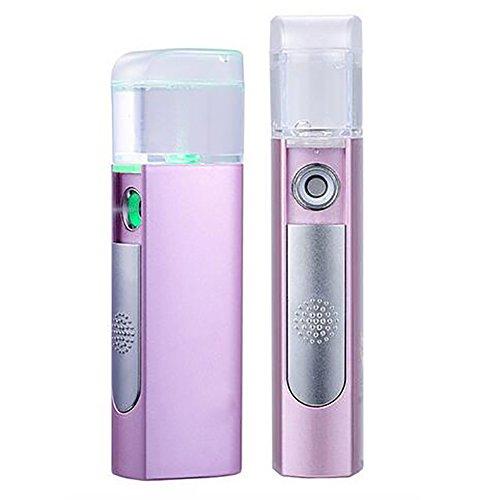 GWJ Gesicht Professional Nano-Ion Gesicht Kaltnebel Luftbefeuchter, Dampfer Persönliches Gesicht Feuchtigkeitsspendende Hautpflege Porenreiniger USB Wasser Portable