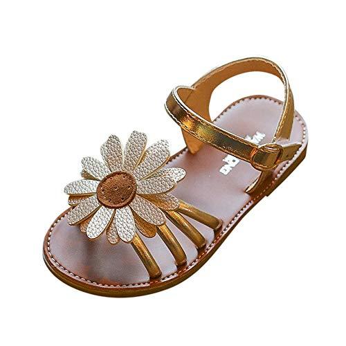 Sandalen für Kinder Mädchen/OSYARD Sommer Offene Zehen Römisch Sandaletten Niedlich Kindersandale Strand Schuhe