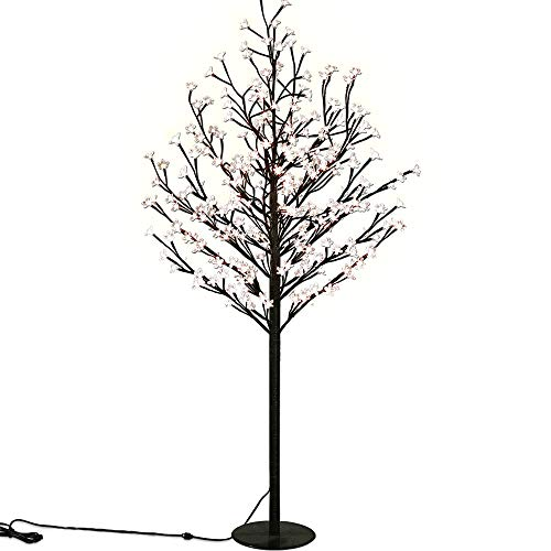 Lampada da pavimento mod. albero ciliegio fiorito 220m LED per interni/esterni