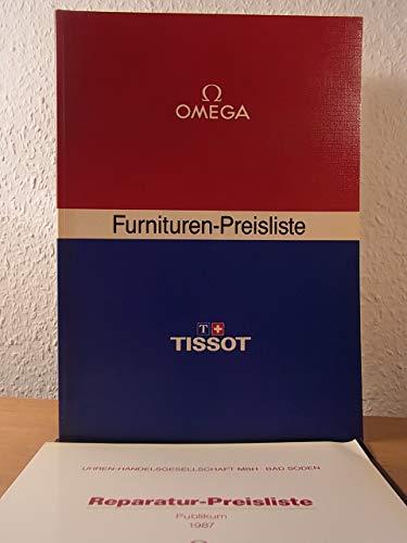 Furnituren-Preisliste 1987. Omega, Tissot
