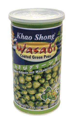 Grüne Erbsen mit Wasabi 4er Pack (4 x 280 g Dose)
