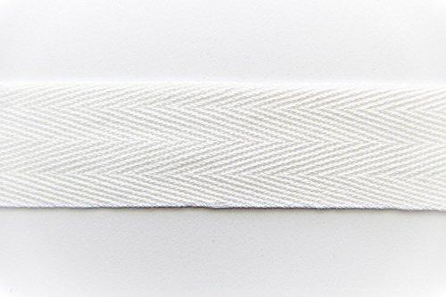 schwarz, 15mm Nahtband aus 100/% Baumwolle NTS N/ähtechnik 50m Rolle K/öperband
