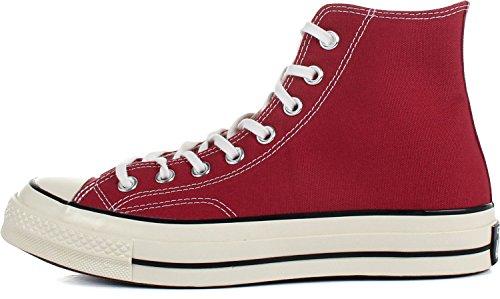 Converse All Star Prem Hi 1970's Canvas, Baskets Basses Mixte Adulte Rouge - Rojo