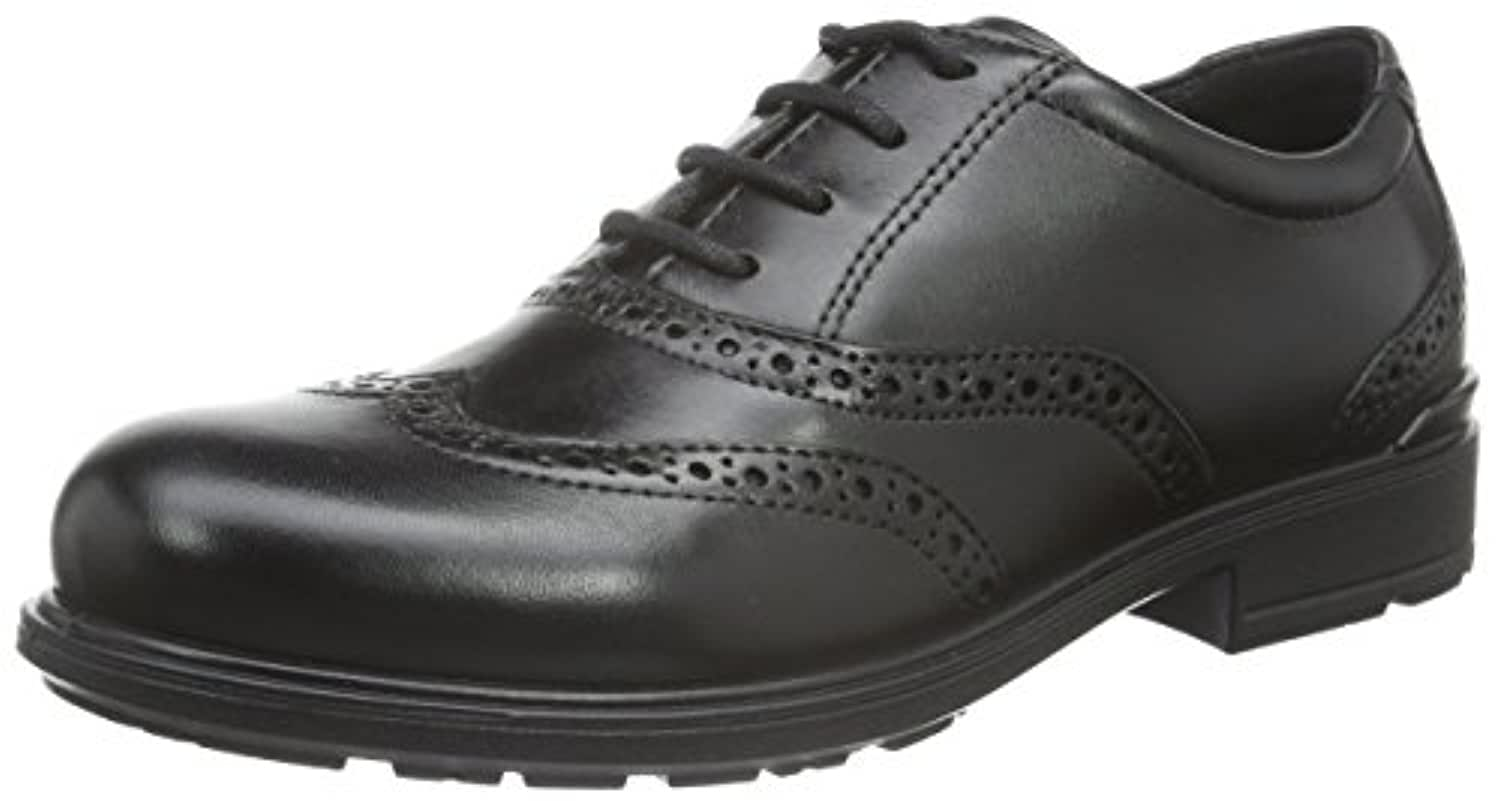 Ecco Boys' Cohen Brogues, Black (BLACK1001), 1 UK