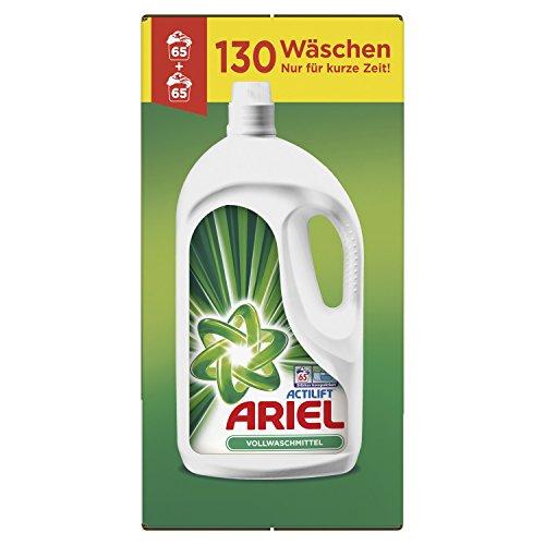 Ariel Vollwaschmittel (Flüssig) 7,15l, 130Waschladungen [Auslaufmodell]