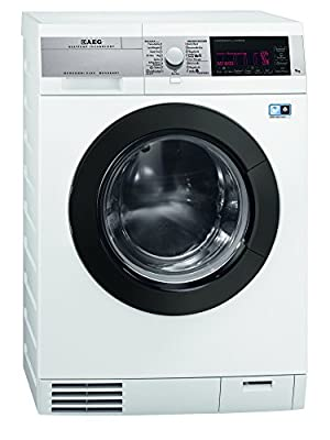 AEG L99695HWD ÖKOKombi Plus Heat Pump Washer Dryer 9kg 1600rpm by AEG