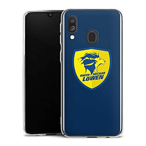 Hülle kompatibel mit Samsung Galaxy A40 Handyhülle Case Handball Rhein Neckar Löwen Fanartikel Merchandise