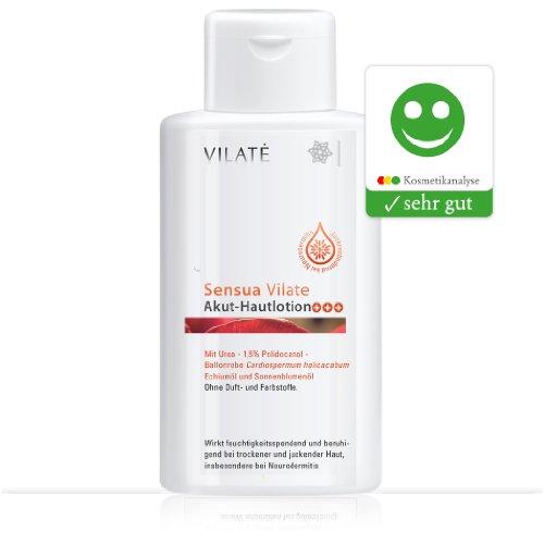 Sensua Vilate Hautlotion Akut; Bei allergischer, trockener, juckender Haut und Neurodermitis / 250 ml