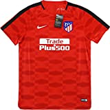 2017-2018 Atletico Madrid Nike Pre-Match Dry Training Shirt (Red)