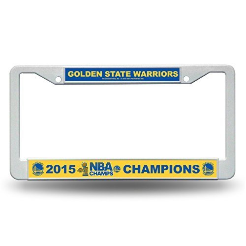 Rico Golden State Warriors Offizielle NBA 30,5x 15,2cm 2015NBA Finals Champions Kunststoff License Plate Frame für 886998