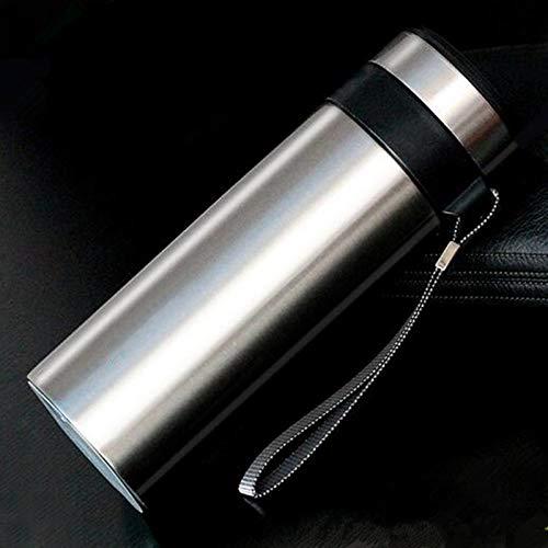 WDCSHJSJD Edelstahl-Thermoskanne mit gerader Tee-Thermoskanne -