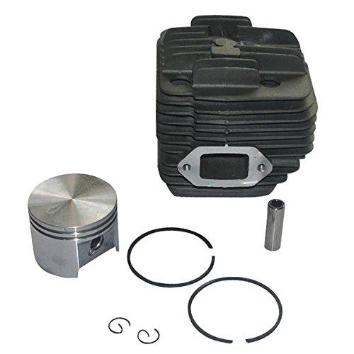 JRL Nikasil beschichtet 49 mm Zylinder Kolben Replica Ring Montage für Stihl TS400 Rasentrimmer -