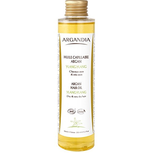 Argandia Huile Capillaire Argan Haar-Öl,1er Pack (1 x 150 ml) - Reve Finish