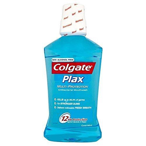 Colgate Plax Alkoholfreie Mehr Schutz Cool Mint Mundspülung (500 Ml) -