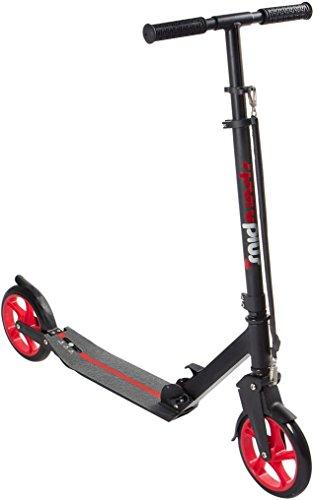 Preisvergleich Produktbild SportPlus EZY! Urban-Scooter, patentierte Vollfederung, Extra Große Räder Ø 200mm, bis 100 kg Benutzergewicht, EN 14619 Geprüft