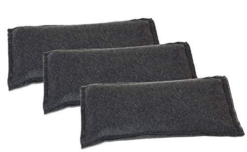 all-around24 3 x Entfeuchter Kissen für das Auto, Wohnungen Luftentfeuchter Trockenbeutel wiederverwendbar Keine Beschlagene Scheiben