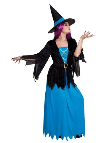 Hexen-Kostüm für Damen - S (Kostüm Sorciere)