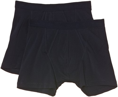 Fruit of the Loom Herren 170267 Boxershorts, Blickdicht, Blau (UN Underwear Navy), 5 (M) - Von Loom Fruit The Of Herren-unterhosen